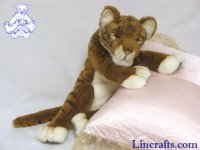 Soft Toy Wildcat, Tiger by Hansa (40cm)