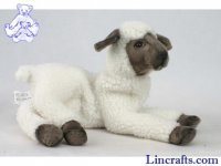 Soft Toy Lamb White by Hansa (33cm)