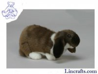 Soft Toy Rabbit, German Lop-Eared Bunny by Hansa (25cmL.)