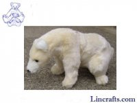 Soft Toy Polar Bear by Hansa (36cm)