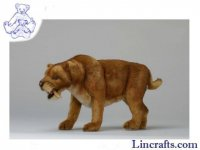 Soft Toy Sabre Tooth Tiger by Hansa (45cm) 4885
