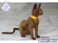 Soft Toy Pharaoh's Cat, Bastet, by Hansa (24cm)