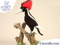 Soft Toy Bird, Ivory Billed Woodpecker by Hansa (40cm)