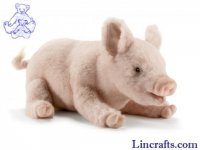 Soft Toy Pig by Hansa (28cm) 4944