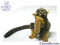 Soft Toy Squirrel Monkey by Hansa (28cm)