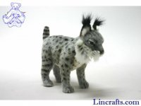 Soft Toy Wildcat, Spanish Lynx by Hansa (35cm)
