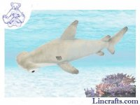 Soft Toy Hammerhead Shark by Hansa (60cm) 5058