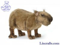 Soft Toy Capybara (Coypus) by Hansa (33cm)