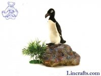 Soft Toy Bird, Great Auk by Hansa (30cm) 5129