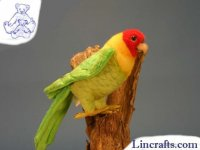 Soft Toy Carolina Parakeet by Hansa (17cm) 5135