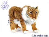 Soft Toy Wildcat, Caspian Tiger by Hansa (30cm)