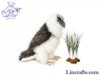 Soft Toy Bird, Sea Eagle by Hansa (24cm) 5143
