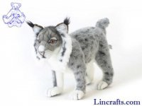 Soft Toy Wildcat, Iberian Lynx by Hansa (40cm)