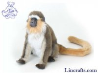 Soft Toy Green Monkey by Hansa (30cm)
