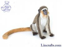 Soft Toy Green Monkey by Hansa 26 cm