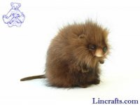 Soft Toy Muskrat by Hansa (22cm)