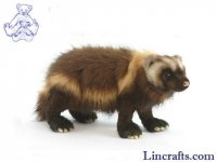 Soft Toy Wolverine by Hansa (50cm)