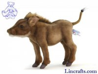 Soft Toy Warthog by Hansa (28cm) 5249