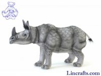 Soft Toy Asian Rhino by Hansa (40cm)