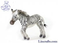 Soft Toy Zebra by Hansa (23cm)