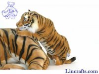 Soft Toy Wildcat, Tiger by Hansa (50cm)