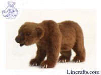 Soft Toy Grizzly Bear by Hansa (58cm)