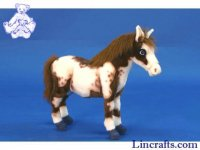 Soft Toy Pinto Horse by Hansa (50cm)