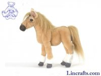 Soft Toy Horse, Palomino Foal by Hansa (28cm)