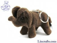 Soft Toy Elephant Keyring by Hansa (10cm)