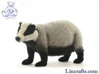 Soft Toy Badger by Hansa (58cm)