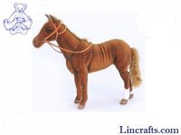 Soft Toy Race Horse Phar'Lap by Hansa (36cmH) 5875