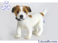 Soft Toy Dog, Jack Russel Terrier by Hansa (25cm)