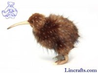 Soft Toy Bird, Kiwi by Hansa (27cm) 5980