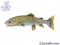 Soft Toy Fish, Cut-Throat Trout by Hansa (33cm)
