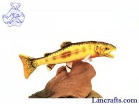 Soft Toy Fish, Golden Trout by Hansa (33cm)