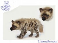 Soft Toy Stripped Hyena by Hansa (33cm)