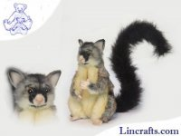 Soft Toy Common Brush Tailed Possum by Hansa (22cm)