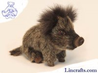 Soft Toy Wild Boar by Hansa (22cm)