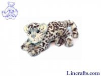 Soft Toy Wildcat, Snow Leopard by Hansa (30cm) 6304