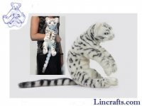 Soft Toy Bengal Cat by Hansa (42cm)
