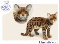 Soft Toy Bengal Cat by Hansa (45cm)