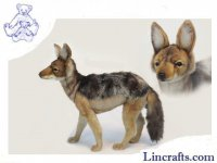Soft Toy Jackal Black-Backed by Hansa (55cm)