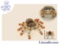 Soft Toy Arachnid, Jumping Spider by Hansa (29cm) 6556