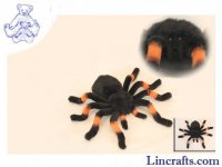 Soft Toy Spider, Orange Kneed Tarantula by Hansa (30cm) 6558