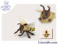 Soft Toy Honeybee by Hansa (22cm) 6565
