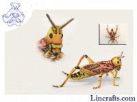 Soft Toy Locust Grasshopper by Hansa (35cm) 6569