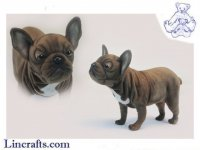 Soft Toy French Bulldog by Hansa (50cm.L)