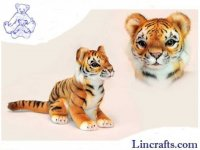 Soft Toy Wildcat, Sumatran Tiger Cub by Hansa (28cm.L)