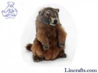Soft Toy Marmot by Hansa 34cm.H