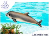 Soft Toy Porpoise Vaquita by Hansa (31cm.L)